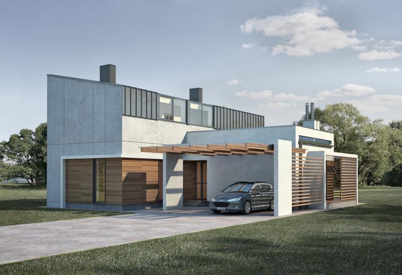 Modeliai suplanavimas for Maison en prefabrique prix