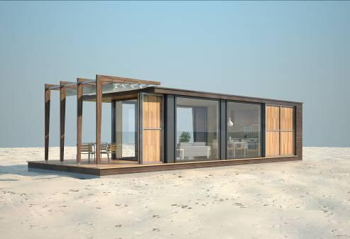 The possibility to design an individual house in accordance with